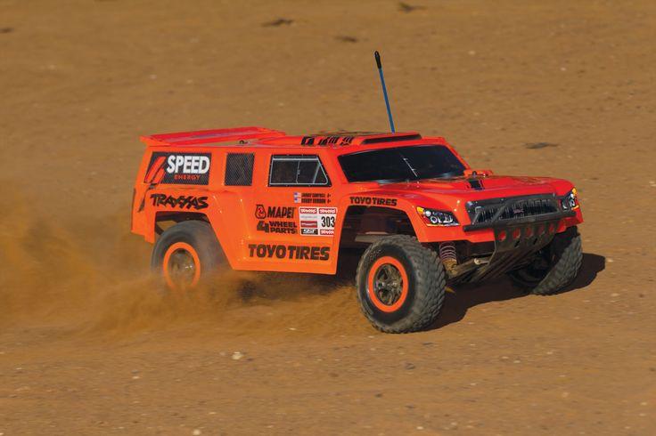 Slash: 1/10 Scale 2WD Short Course Racing Truck - Robby Gordon Dakar Truck Class Edition   Traxxas
