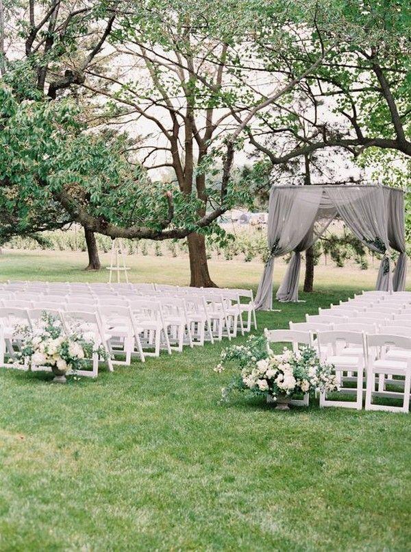 30 Breathtaking Outdoor Wedding Ideas To Love Oh Best Day Ever Outside Wedding Ceremonies Wedding Ceremony Decorations Outdoor Garden Weddings Ceremony