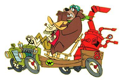 Cartoon Hillbilly | and Blubber Bear in the Arkansas Chuggabug 8 . Luke is a hillbilly ...
