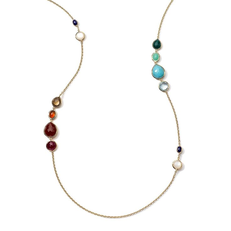 Ippolita Woman Gold-tone Stone Necklace Gold Size Ippolita