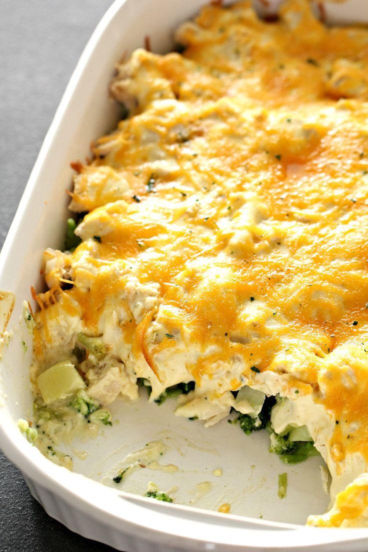 Moms Easy Chicken Broccoli Casserole Chicken Divan -6645