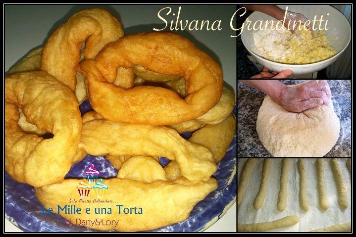 Crespelle calabresi con patate RICETTA DI: SILVANA GRANDINETTI Ingredienti: Un kg di patate a pasta gialla 700 g di farina0 300 g di semola di grano