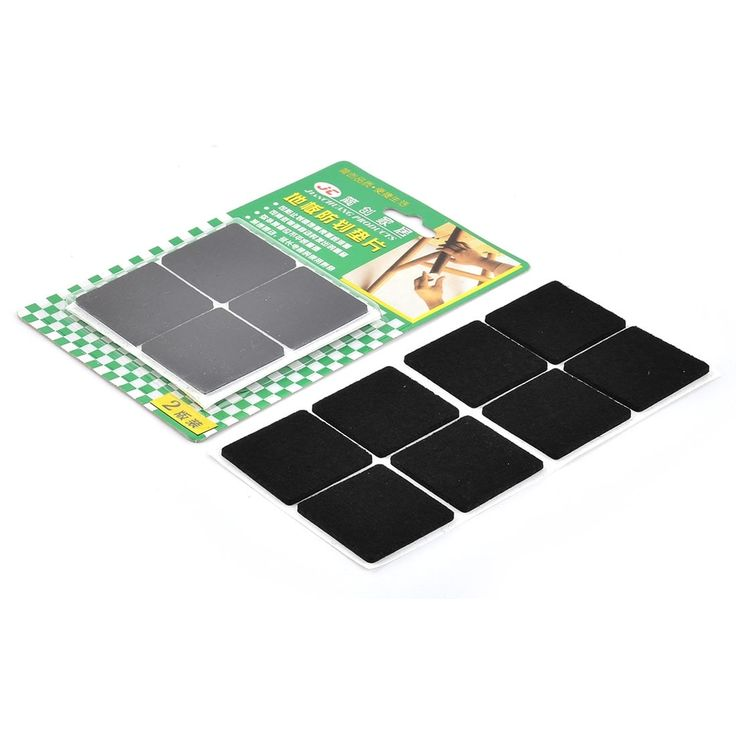 Household Felt Anti Slip Table Desk Foot Furniture Floor Protector Pad 16pcs