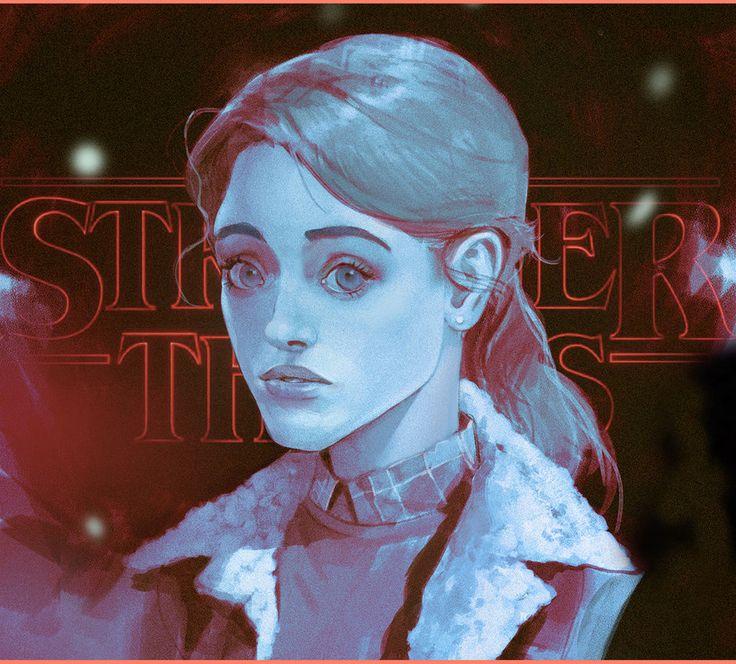 Nancy/ Stranger Things by SvetoslavPetrov.deviantart.com on @DeviantArt