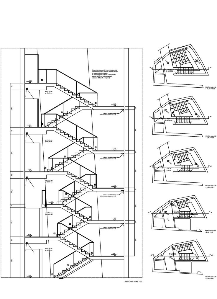 Staircase Section Tower : Best stair section drawing images on pinterest