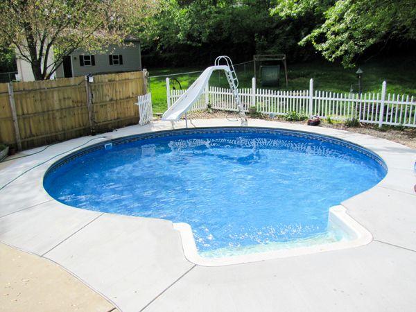 Round Inground Swimming Pool Kits