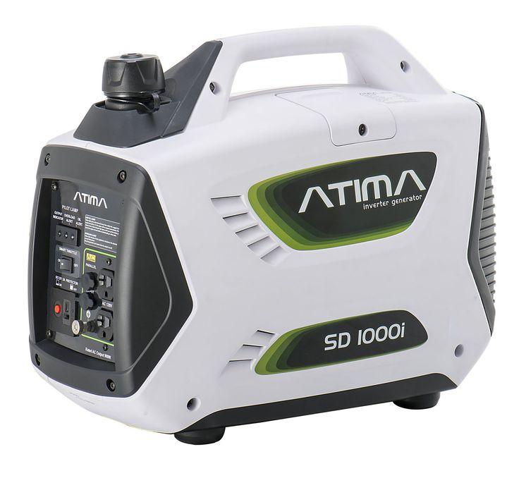 Atima SD1000i 1,000 Watt 4-Stroke Gas-Powered Quiet Portable Inverter Generator,CARB Compliant