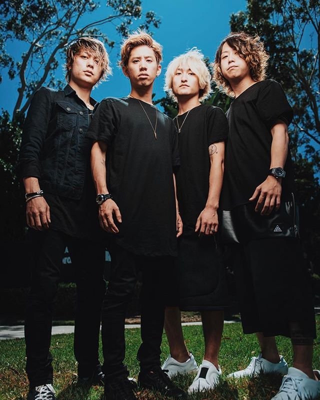A previously unreleased shot I took of some of the nicest guys I know! - @oneokrockofficial (@10969taka @tomo_10969 @ryota_0809 @toru_10969)