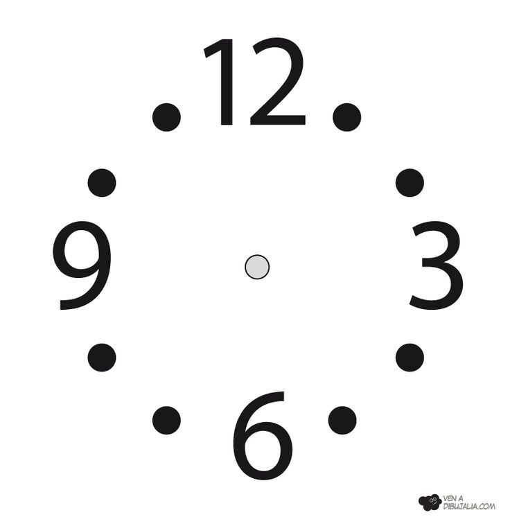 agujas reloj dibujo - Buscar con Google