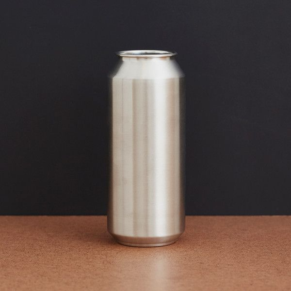 "Tall Boy Pint Cup -  16oz 18/8 medical grade stainless steel BPA-free Dishwasher safe 6"" height  Cool Material"