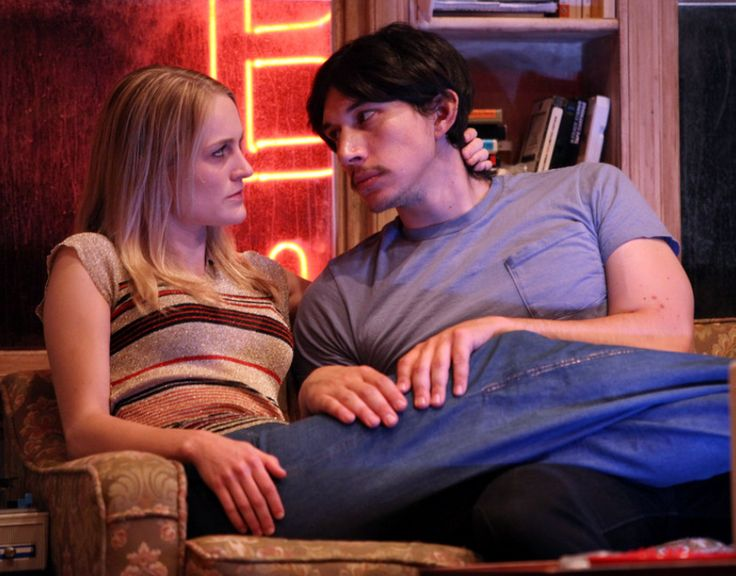 """Adam Driver and Joanne Tucker """"Little Doc"""" at The Rattlestick Theater, 2010"""
