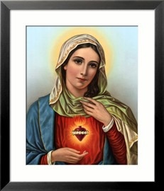 Sacred Heart of Mary Posters - by AllPosters.ie