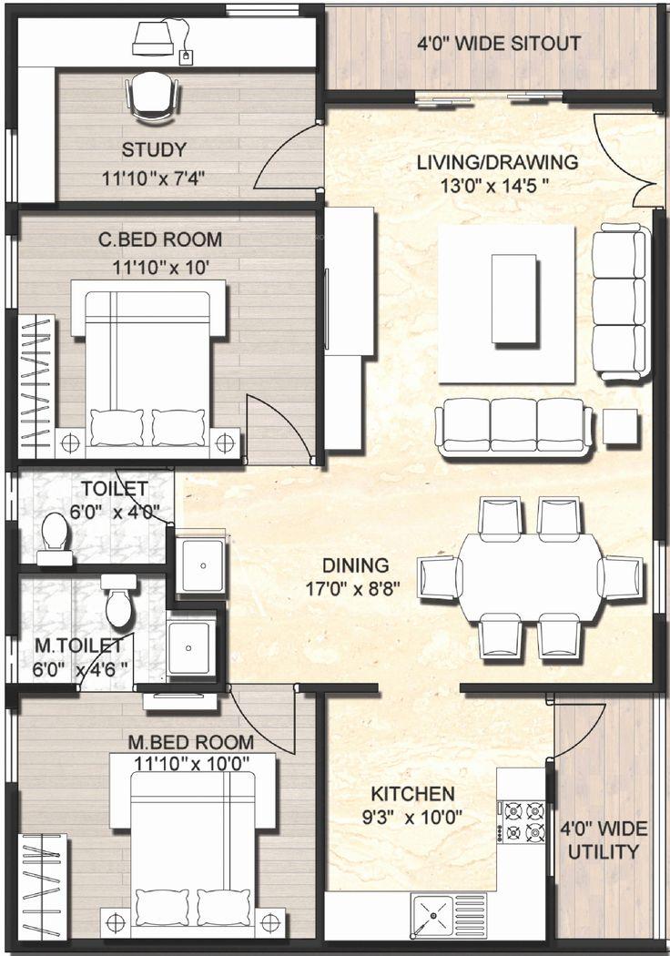 Free Duplex House Design: 900 Sq Ft Duplex House Plans - Google Search