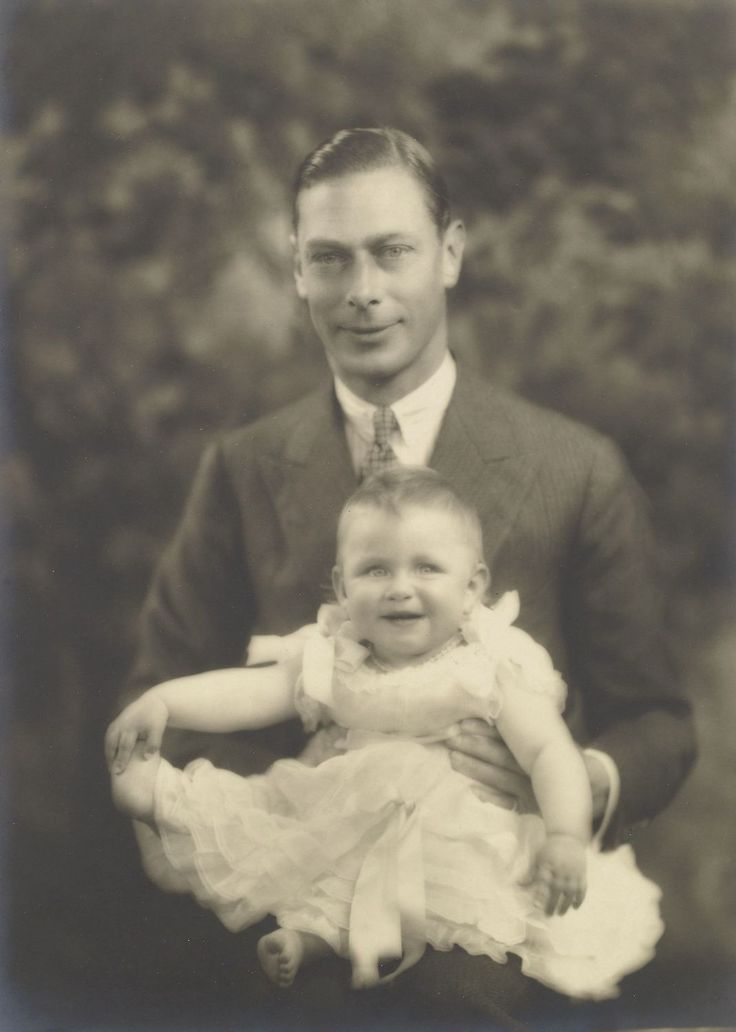 Princess Margaret Pictures >> The Duke of York, later King George VI, holding his youngest child, Princess Margaret. June 22 ...