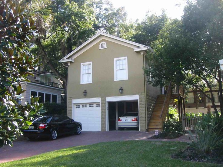Two-Story One-Car Garage Apartment | Historic Shed | Carports ...