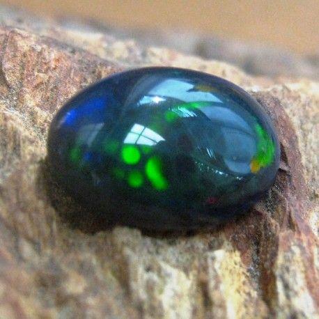 Batu Black Opal Sisik Naga Petir 2.27 Carat Unik dan Exclusive