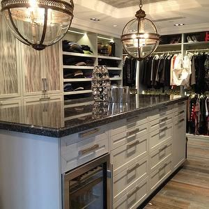 Mens Walk In Closet   Contemporary   Closet   Jeff Lewis Design
