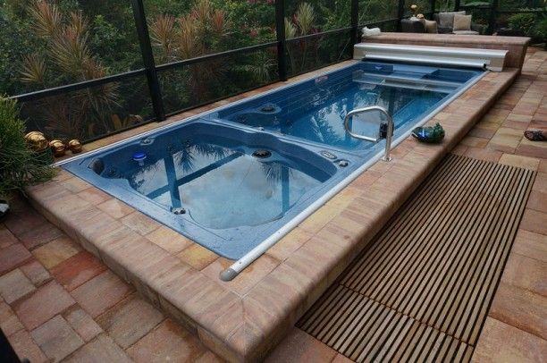 11 best small inground pools images on pinterest for Pool design cost