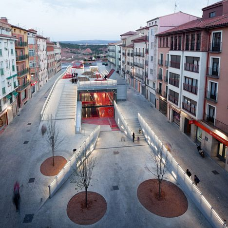 Submerged public space, mentioned by our friends at the LowLine in NYC - powerful image! TERUEL-ZILLA!