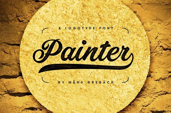 Painter by Mans Greback on @creativemarket
