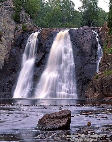 Minnesota, Tettegouche State Park, High Falls