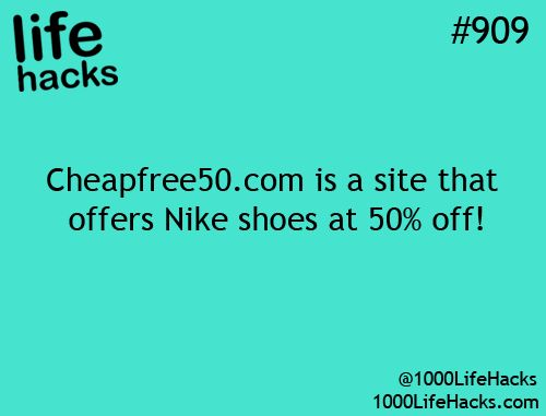 Life Hack Running Shoes