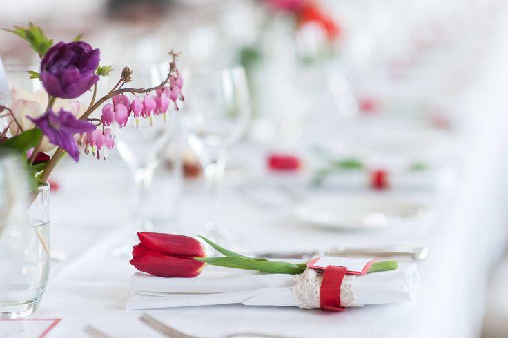 Real wedding. Elegant table decoration