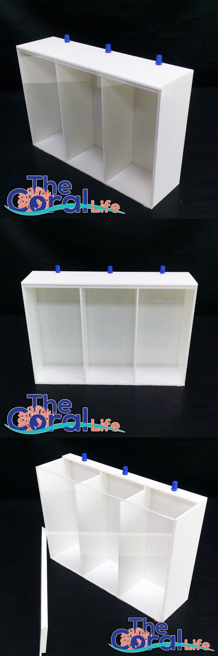 Other Fish and Aquarium Supplies 8444: Your Choice Aquatics Triple Dosing Container - (X3)1.2 Gallons BUY IT NOW ONLY: $109.99