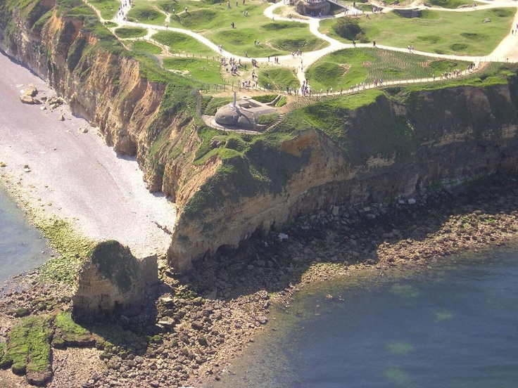 Pointe du hoc, Normandie... I remember this place...the hedgerows were so eerie.
