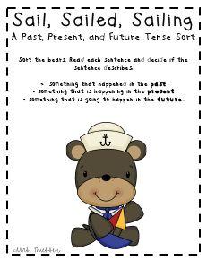 Verb tenses & Sorting sentences