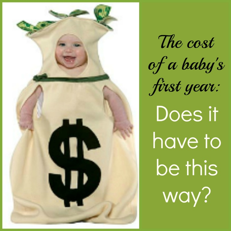 Tips for saving money in your baby's first year. Don't freak out! Juuuuust pinning for the future. :p