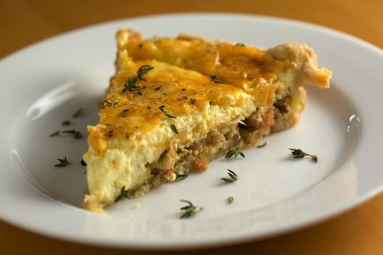 Bacon Quiche Recipe- Just made this for my hubby for Valentine's Day ...