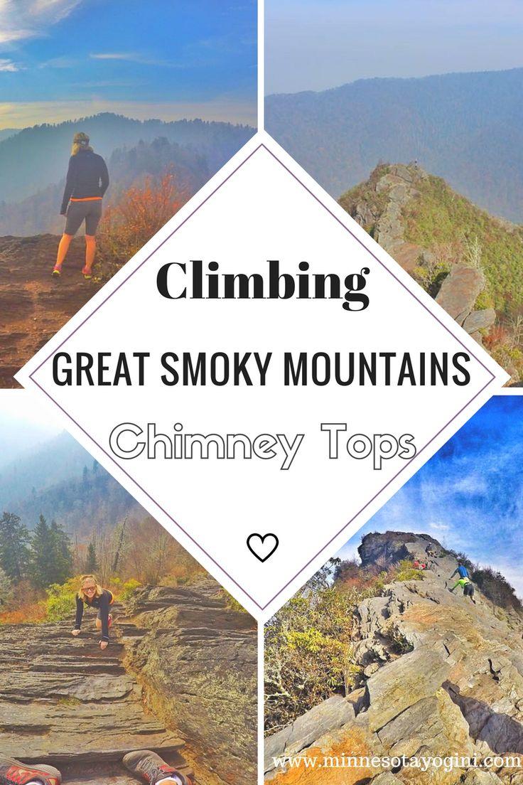 Minnesota Yogini - Hiking Chimney Tops Trail - Great Smoky Mountain National Park - Minnesota Yogini