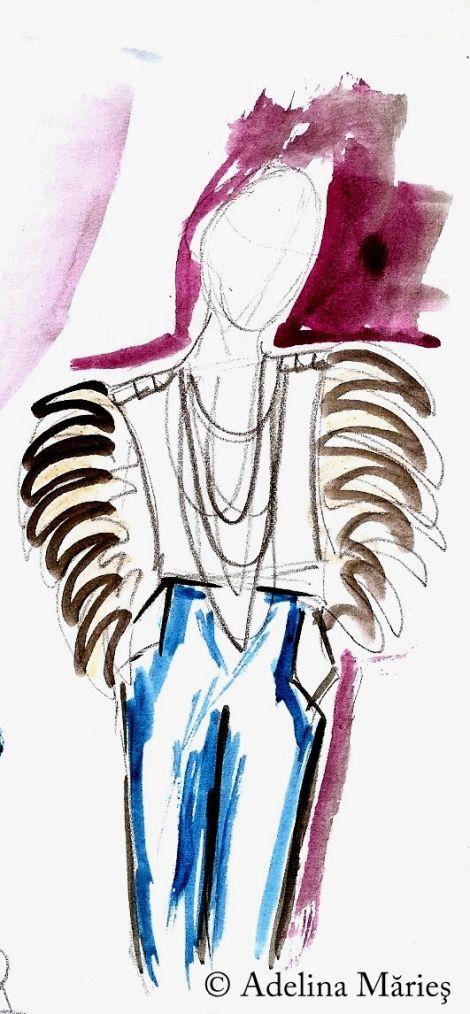 Adelina Maries fashion designer artisan