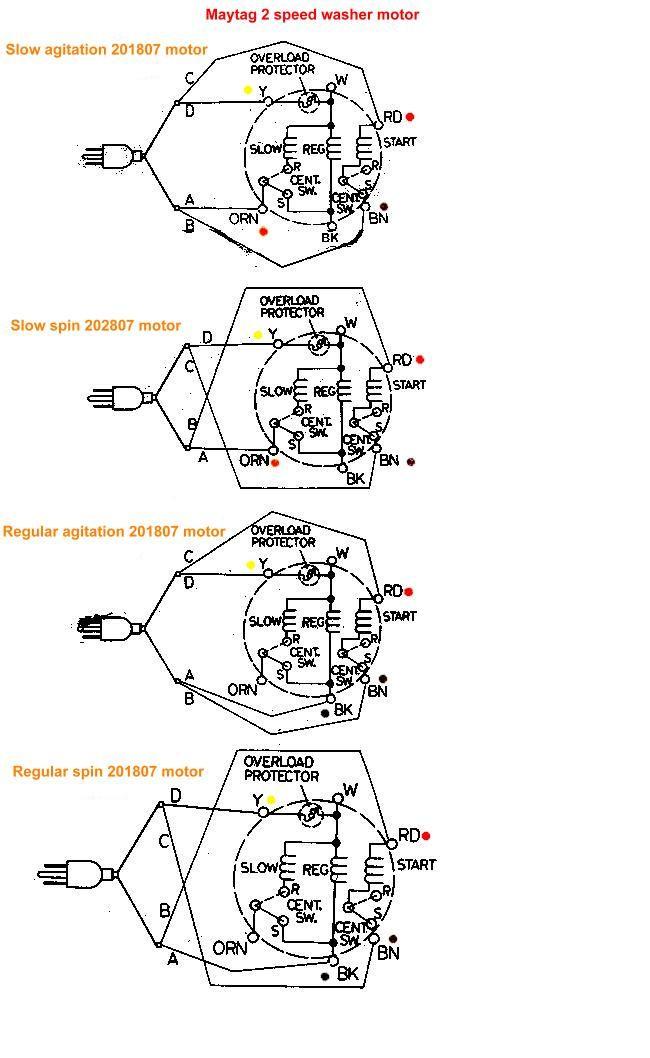 Maytag Washer Motor Wiring Diagram : 34 Wiring Diagram