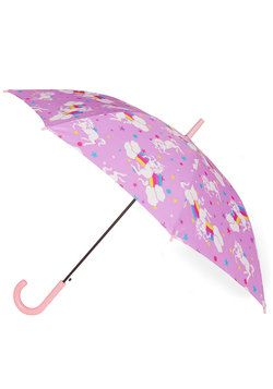 Fantastical Forecast Umbrella. Come rain or shine, theres a 100% chance of fun when this purple umbrella is by your side! #purple #modcloth