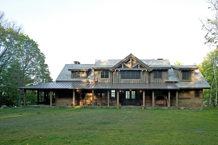 Cabin In Woods >> Big Wood Timber Frames – The Lodge | Cabanas | Pinterest | Woods, Cabin and Log cabins
