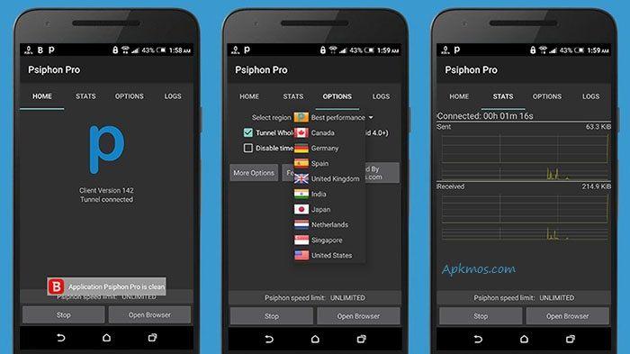 Download Psiphon Pro v150 Full Apk - Psiphone adalah Tool / Alat / Aplikasi android yang memberikan banyak keuntungan bagi anda, termasu...