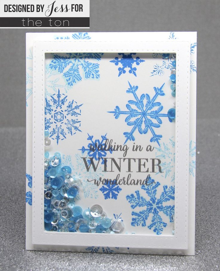Create beautiful layered snowflake flurries on your papercrafts with Crystal Flurries stamp set. - 6x8 inches - 20 stamps - Made of photopolymer - Made in the U.S. - This set comes with a color printe