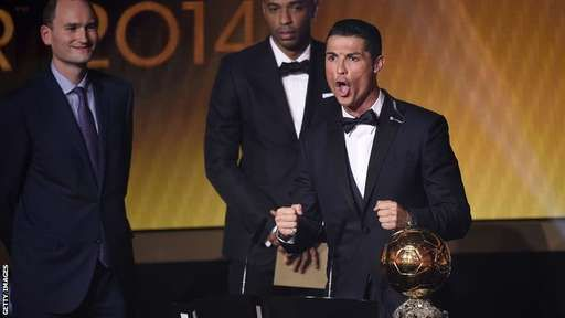 Ronaldo wins the Ballon d'Or - as it happened, bbc.com