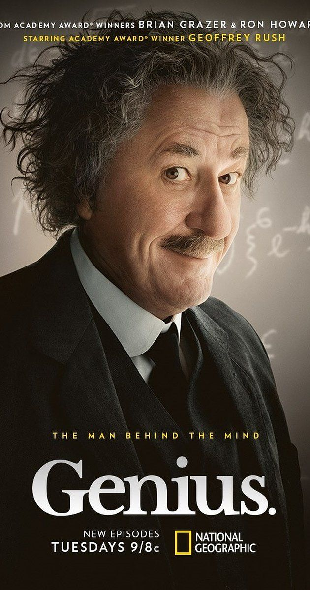 With Johnny Flynn, Nicholas Rowe, Geoffrey Rush, Samantha Colley. A series which explores how patent clerk Einstein could not get a teaching job or doctorate in his early life, yet managed to go on to solve the secrets of the universe.