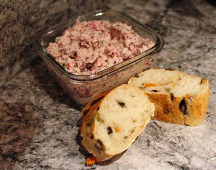 Cranberry-Frischkäse-Aufstrich mit Rezept, Thermomix, The Pampered Chef
