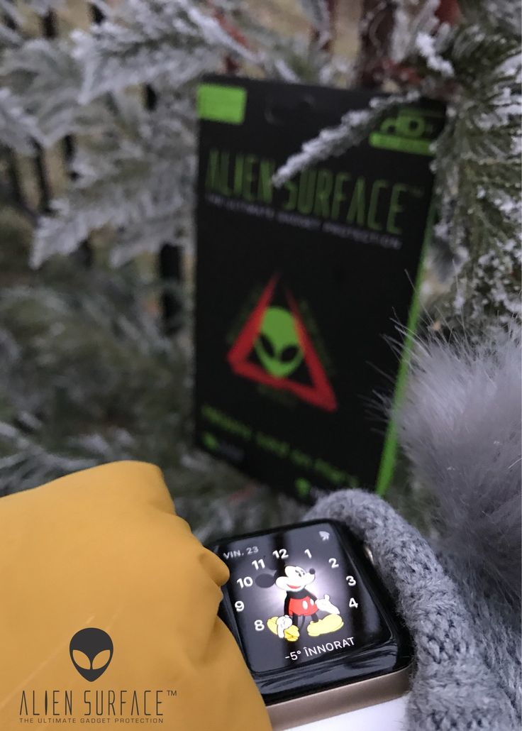 Alien Surface™ folie de protecție pentru Apple Watch-uri