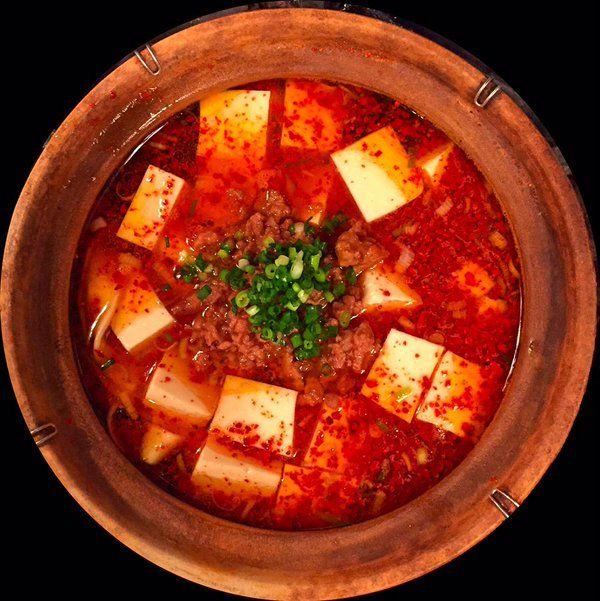 恵比寿 すずらん   麻婆豆腐砂鍋麺?