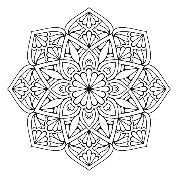 conception de fond floral Vecteur gratuit