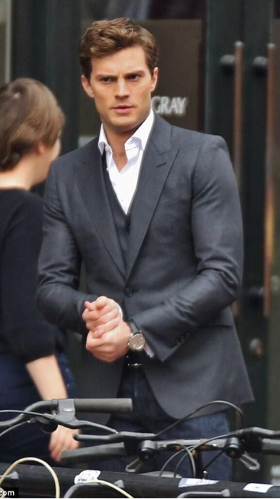 Fifty Shades Of Grey Movie..done shooting. Can't wait for val's day in 2015!!