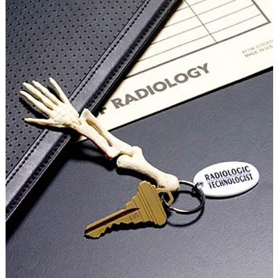 Rad Tech Bone Keychain