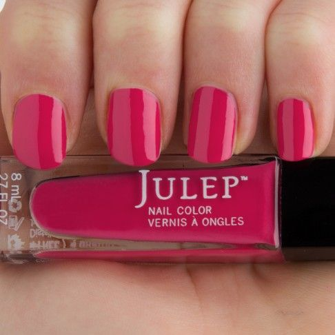 The 25+ best Dark pink nails ideas on Pinterest | Rock nails ...