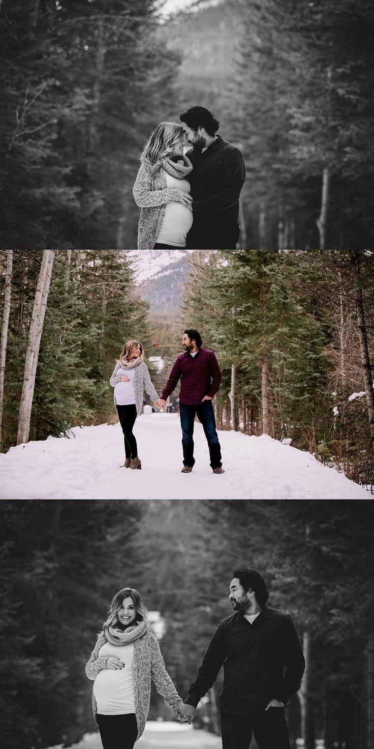 calgary maternity photographers | winter maternity session | canadian rockies photographer
