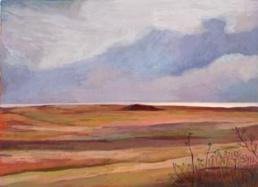 "Saatchi Art Artist Sonal Panse; Painting, ""On The Dunes"" #art"